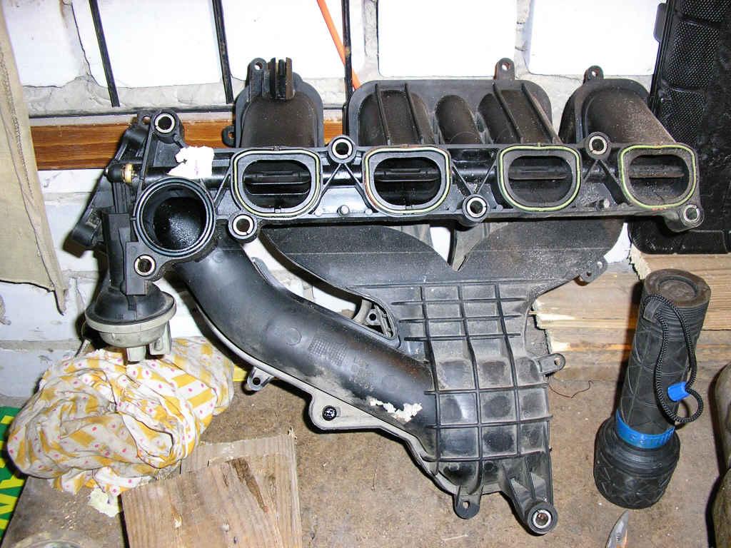 Ремонт впускных коллекторов форд